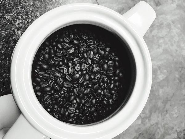 Coffee Coffeebean Coffeebeans Coffee Jar Close-up