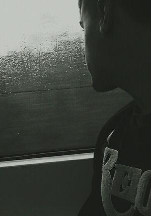 Rain Boyfriend Boy Love Raining Day Pretty Relaxing Train Mylife Beautiful