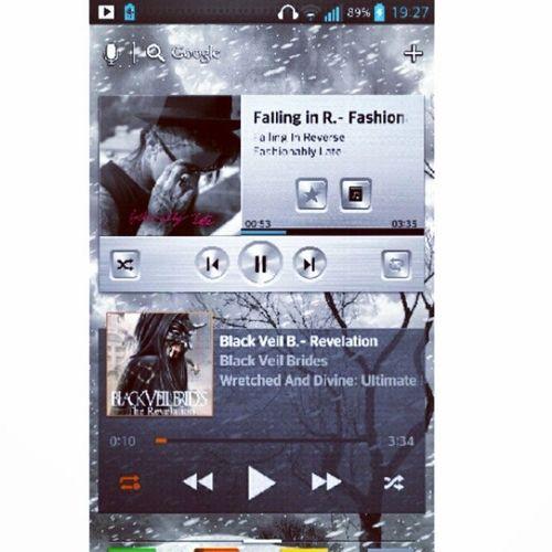 Listening to... :) Music , BvB , Fallinginreverse , Ronnieradke , andybiersack, spam4spam, instagood, instadaily, picoftheday, instafollow,