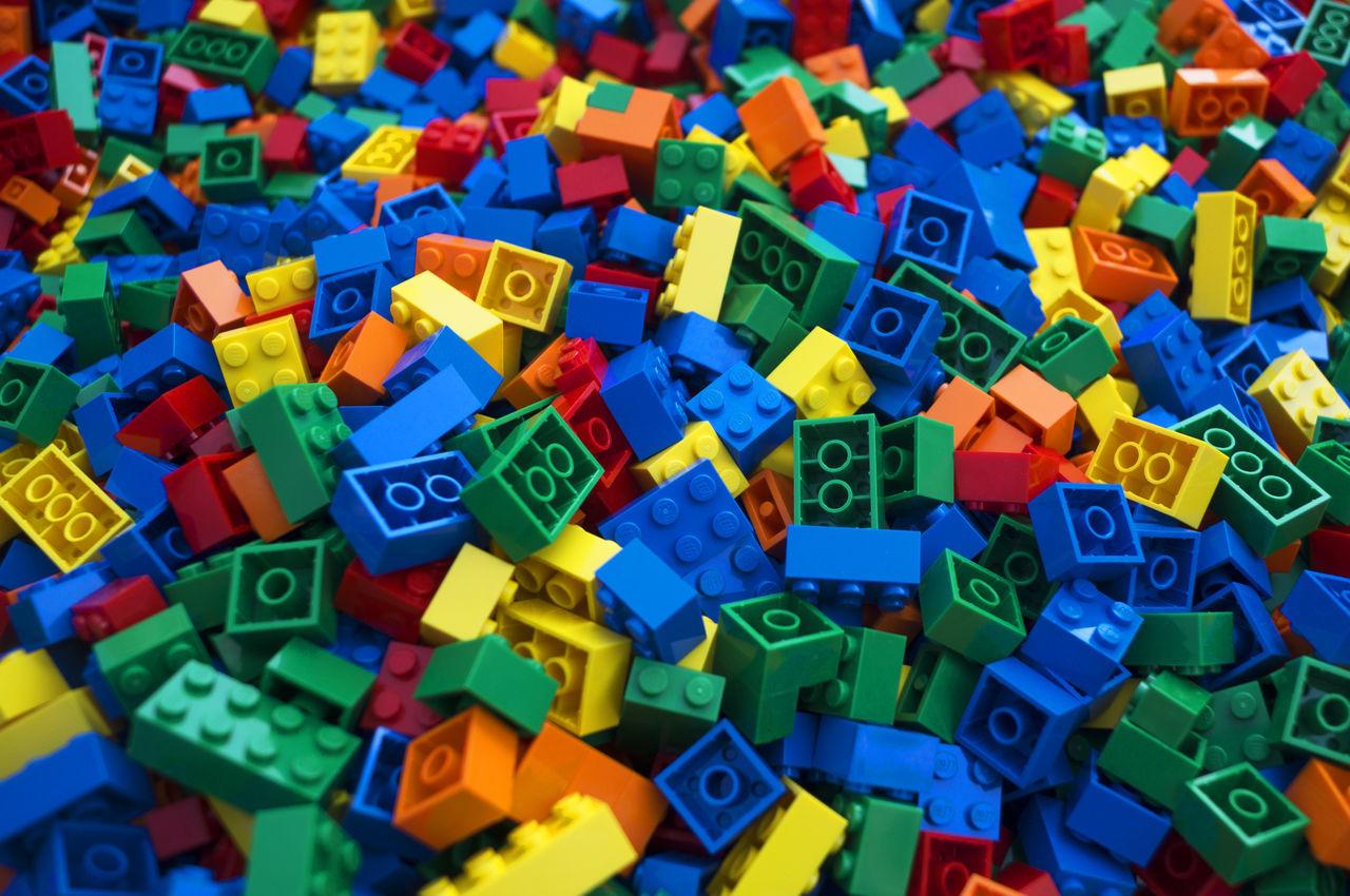 Full frame shot of toy blocks
