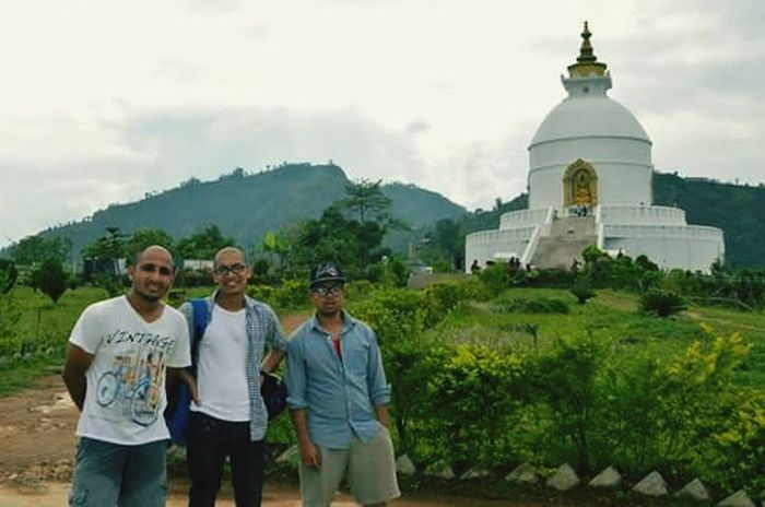 Hiking Pokhara, Nepal with Friends