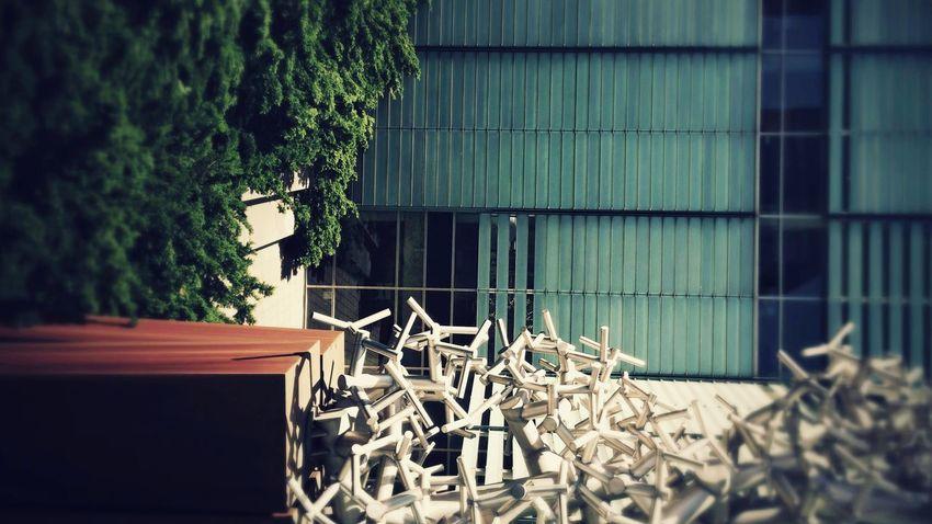 Azur Bibliotheque Library Bibliothek Architecture Architektur Art Contemporain Contemporary Art Concept Conceptual Art Azur Rouille Rust Rost Hello World Check This Out Photography Eye4photography  EyeEm Best Edits EyeEm Gallery Eyeem Market Montréal