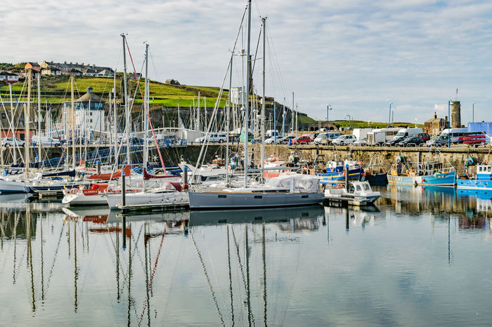 Harbour Reflection Yachts Boats Reflections In The Water Sea And Sky Whitehaven Whitehaven Habour Investing In Quality Of Life