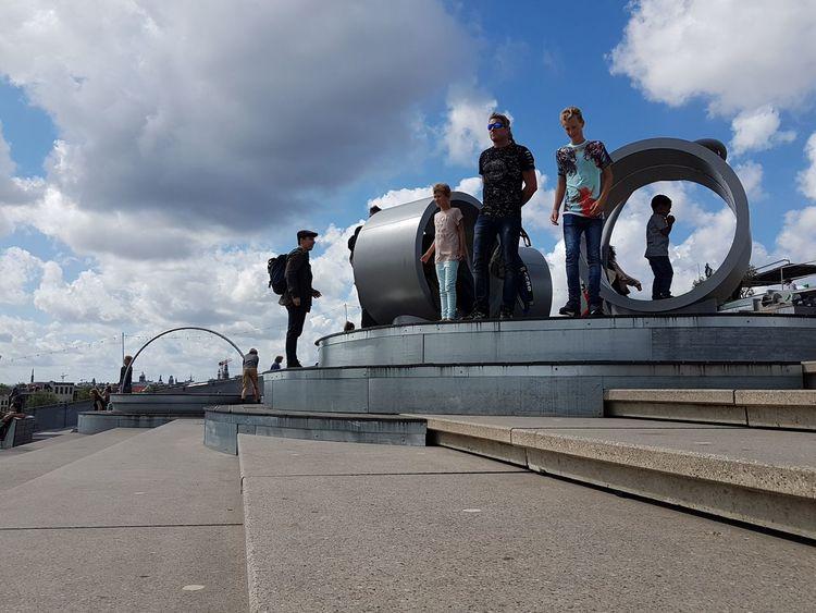 Amsterdam Sky Outdoors Travel Destinations Only Men Nemo Museum