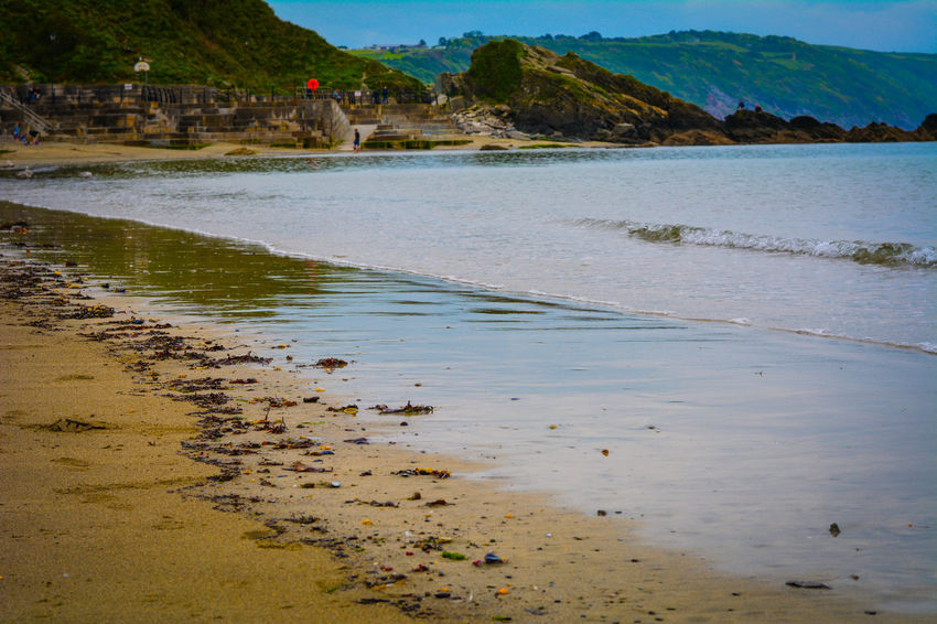 Looe beach. My little peace of heaven Beach Landscape Hello World Hanging Out Check This Out Taking Photos Relaxing Enjoying Life Peasefull Water Relaxing Beautiful Looe Cornwall Uk Cornwall Scenery Scenery Shots Followme Fine Art Photography