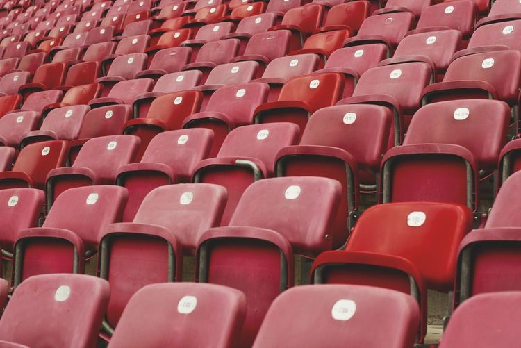 world Cup Cup Soccer Auditorium Seat Red Stadium Chair Sport Empty In A Row Backgrounds MOVIE