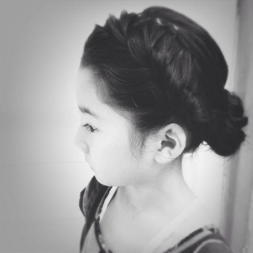 Frozen アナと雪の女王 Girl Hair Style