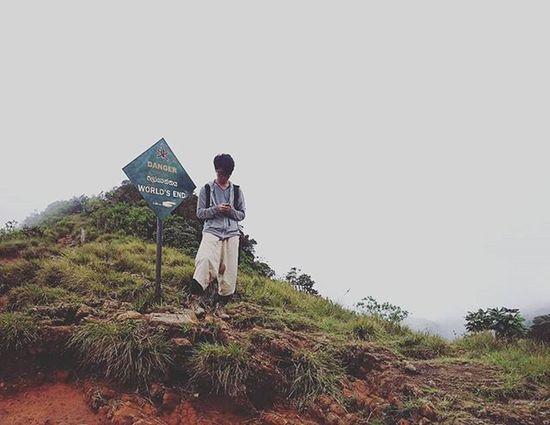 Boy Hortonplains Park Nuwaraeliya SriLanka World End