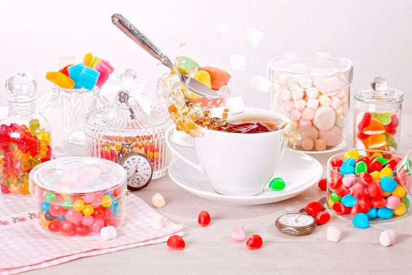 A little bit of colors and magic. Made this shot for the assignment for the course of the photos with stories 🎉😊 Sweet Food Multi Colored Cupcake Indulgence No People Food And Drink Jar Studio Shot Indoors  Candy White Background Food Close-up Day EyeEm Selects Candy Time Teatime Magic Splashing Celebration