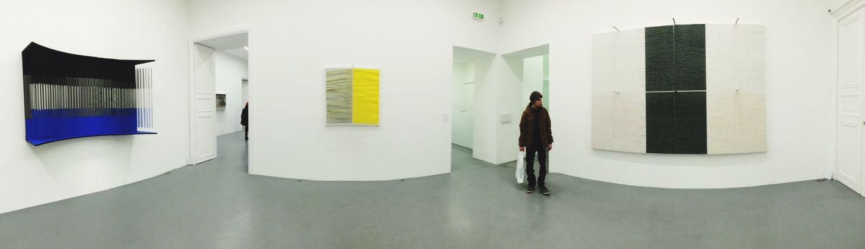 Jesus Rafael  Soto -- Art Galerie Perrotingallerie Exhibition -- Hanging Out Boyfriend Enjoying Life