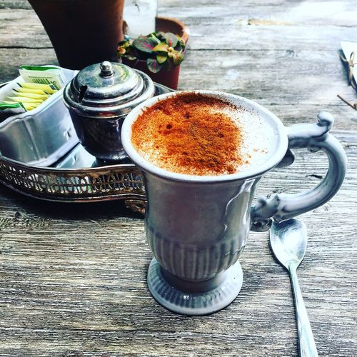 Weekend Lunch Mexico Cdmx Garden Coffee Kaffee Capuccino so French