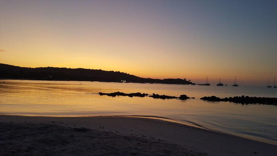 Sunrise Corsica