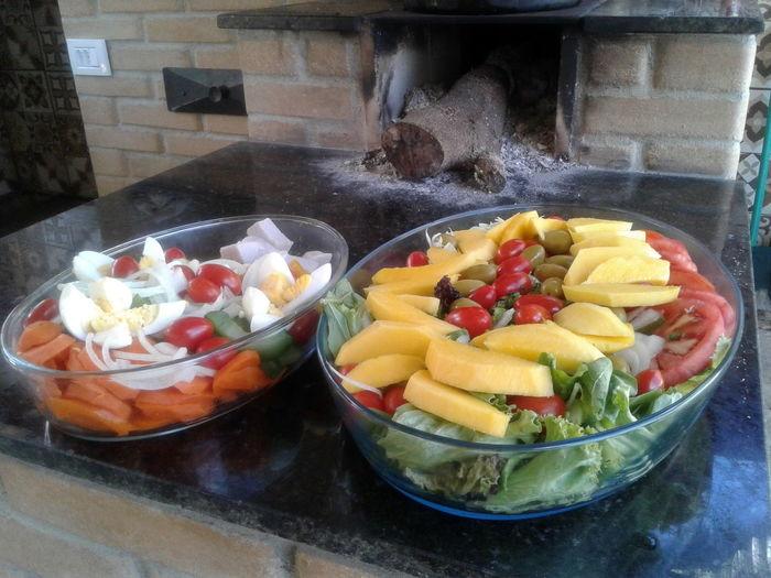 Freshness Multi Colored Ready-to-eat Gourmet Variation Plate Yellow EyeEm Best Shots - Black + White