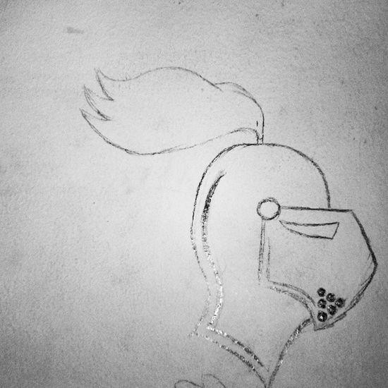 Knight  HEAD Mywall Pencil drawing art face home myroom wallofart instadraw