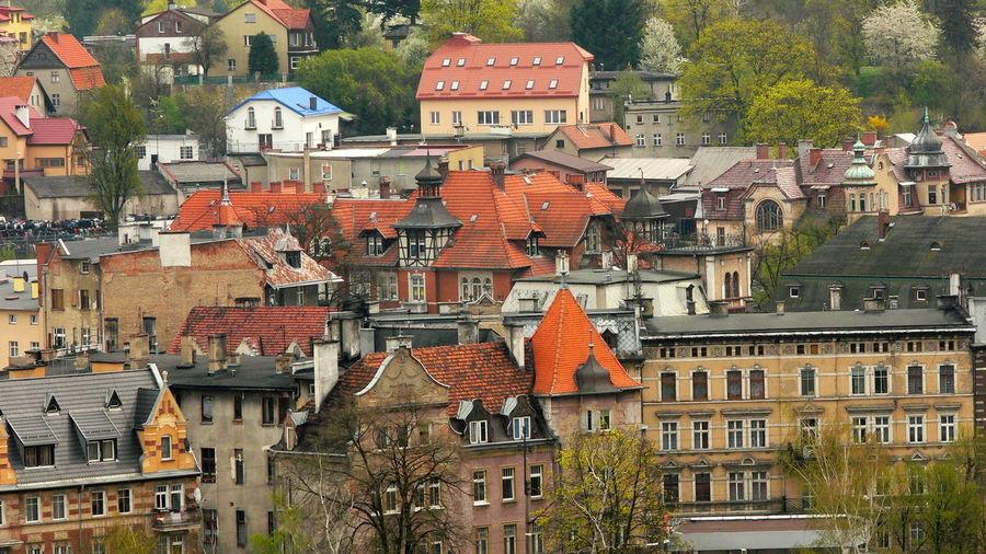 the roofs of the Kłodzko city Architecture Old Town Poland Roof Day Dolny śląsk Dolnyslask Kłodzko Old Buildings Outdoors