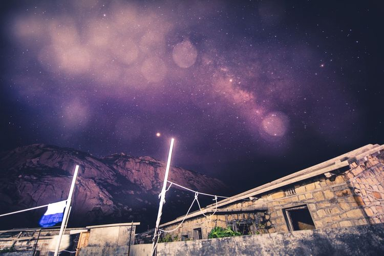 夜幕下的繁星 Night Star - Space Astronomy Sky Space Galaxy Star Low Angle View No People Outdoors Beauty In Nature