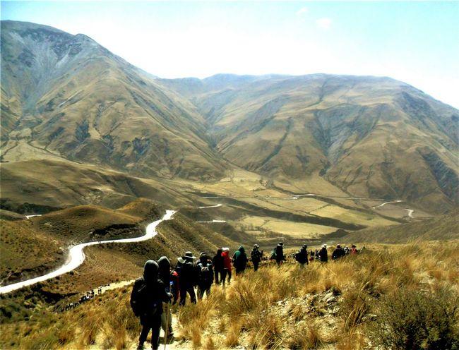 Milagro para el Mundo 2017 Trekking Salta, Argentina Norte Argentino Mountain Nature People Adventure