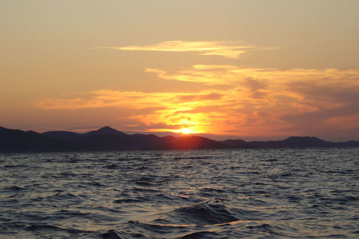 when the sun goes down... Croatia EyeEm Nature Lover Holiday Islands Mediterranean  Sky And Clouds View Beauty In Nature Colour Eyeem Travel Hrvatska Landscape Medeteranian Sea Nature No People Outdoors Scenics Sea Sky Sun Sunset Tranquil Scene Tranquility Water Waves