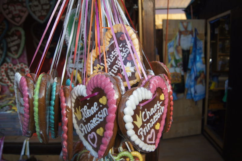 Gingerbread Hearts For Sale At Market