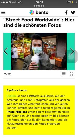 So happy to be featured on bento! This year has been so productive in my photography life. Thanks EyeEm ♥️