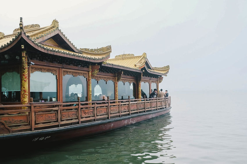 Boat Habour Lake Nature Rippled Scenery Scenics Tourism Tranquil Scene Tranquility Travel Travel Destinations Travel Photography Traveling Water XiHu