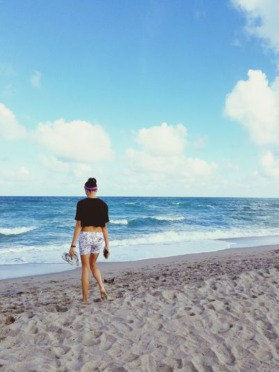 sun day EyeEm Selects Stories From The City Water Full Length Sea Beach Sand Men Rear View Summer Walking Sky Beach Holiday Beach Towel Surf Bikini Swimwear Wave Bikini Bottom Flip-flop Surfer Tide Surfing Suntan Lotion Shore Ankle Deep In Water