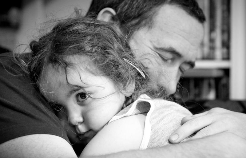 EyeEm Selects Childhood Togetherness Bonding Love Family Real People Family With One Child Focus On Foreground Lifestyles Indoors  Cute Headshot Portrait Blackandwhite Blackandwhite Photography EyeEm Selects This Is Masculinity