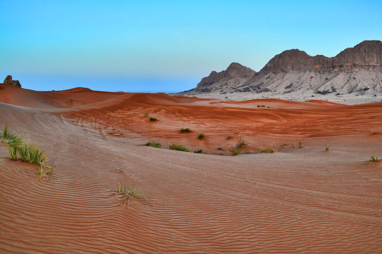 Al Maleha Arid Climate Atmospheric Beauty In Nature Climate Desert Environment Formation Geology Idyllic Land Landscape Mountain Nature No People Non-urban Scene Physical Geography Remote Sand Scenics - Nature Sky Tranquil Scene Tranquility