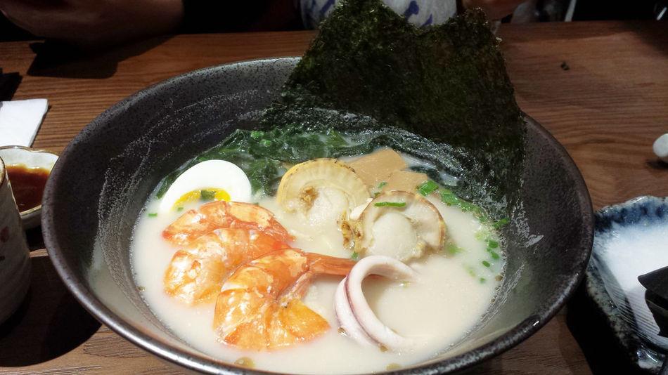 Seafood ramen. Seafood Noodle Ramen Noodle Japanese Restaurant
