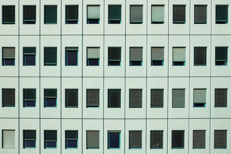 Window Architecture Building Exterior Full Frame Built Structure Backgrounds In A Row Building No People Pattern Repetition Design Day Modern Office Building Exterior Glass - Material Abstract Exterior