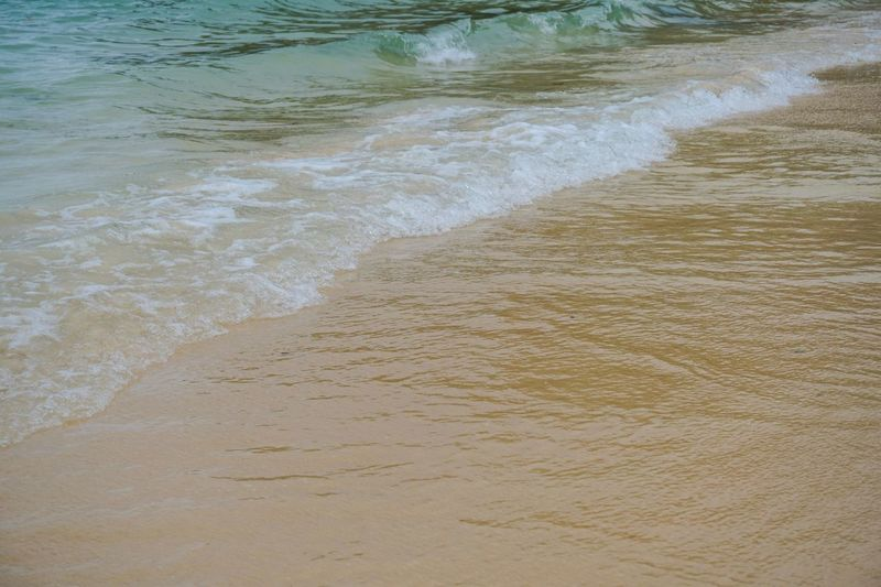 Sea and sand Thailand Travel Water Beach Sand Land Sea Wave Motion Outdoors Day Nature Beauty In Nature