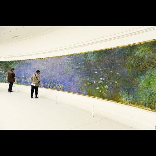 Paris Musee De L Orangerie Monet Nymphéas Art Painting Impressionism