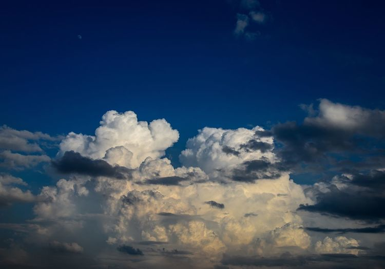 After the rain clouds Sky Nature Beauty In Nature Cloud - Sky Tranquility No People Blue Scenics Outdoors Tranquil Scene Sky Only Day Low Angle View Backgrounds