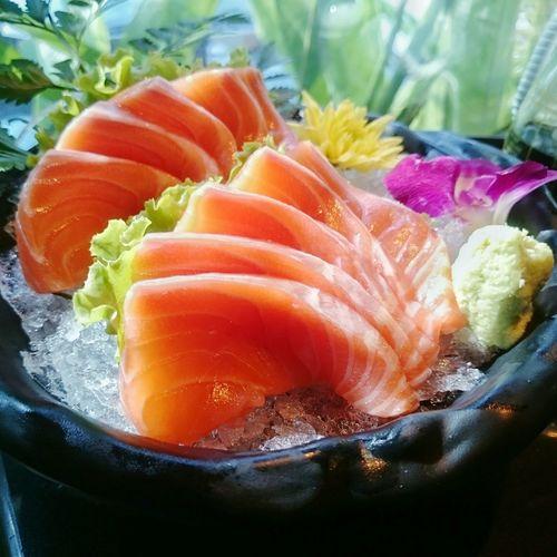 Salmon Sashimi Food Japanese Food First Eyeem Photo