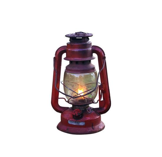 Old red lantern