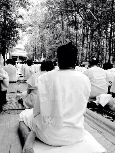 Meditation Meditation Meditation Place Meditation Time Meditation Spot Meditationtime Spotted In Thailand Blackandwhite Black & White Blackandwhite Photography Black&white