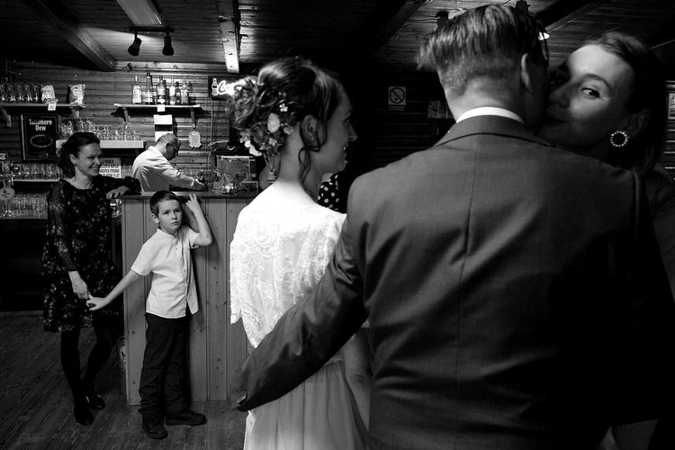 weddings are a great opportunity for stories Streetphotography Streetphoto_bw Documentary Wedding Wedding Photography Bored Children Childhood Fujifilm FujiX100T Photooftheday People Fashion Indoors  Arts Culture And Entertainment Well-dressed Rear View EyeEm Ready   EyeEmNewHere