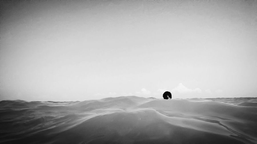 Don't mind me, I'm just hiding out behind the wave. Blackandwhite EyeEm Best Shots Shootermag