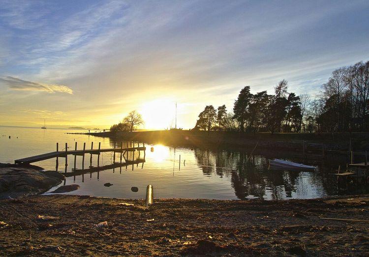 Huk på Bygdøy venter på våren Sea Oslo Bygdøy Huk
