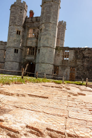 Abbey Floor Tiles English Heritage Building Ancient Archaeology Architecture Building Building Exterior Built Structure Clear Sky Day English Heritage Floor Tiles History Low Angle View No People Old Old Ruin Outdoors Patterned Tiles Ruined Sky Sunlight The Past Titchfield Abbey Travel Travel Destinations