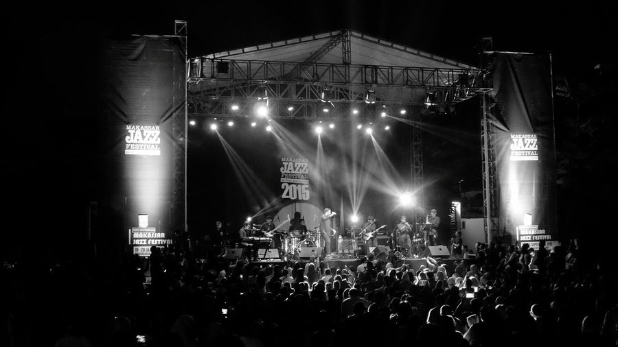 Makassar Jazz Festival Collected Community Historic Site Live Music Jazzfest Blackandwhite Leica C