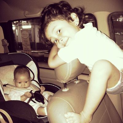 Two little cute girls ChaCha RaRa