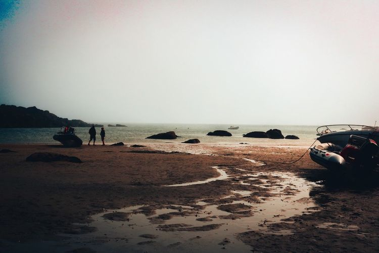 Shipwreck | Naufrage 🛶🏝 Sand Beach Sea Shore Water Nature Tranquility Outdoors Tranquil Scene Spring Wildlife Live For The Story The Great Outdoors - 2017 EyeEm Awards Disconnected Outdoor Photography Nofilter Nature Livefolk Wildlife & Nature