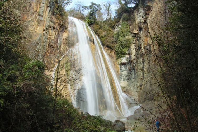 Salt del Mir Osona Waterfall Water Long Exposure Beauty In Nature Nature Outdoors