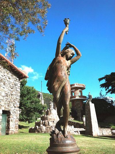 Cordobaargentina Cordoba, Loscocos Statue Statues