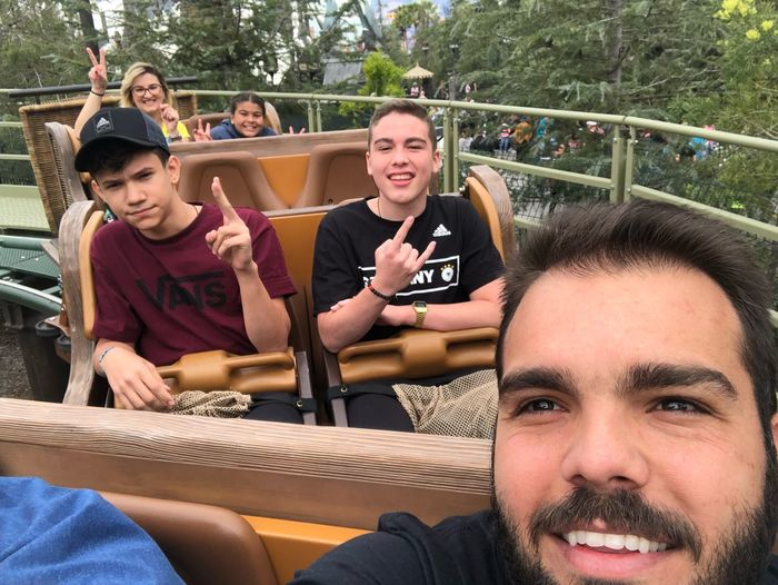 Family Matters Family Time Family❤ Family Friendship Union Rollercoaster Universal Studios  Sitting Men Group Of People Friendship Togetherness Leisure Activity This Is Family People Communication Lifestyles Real People Smiling Portrait