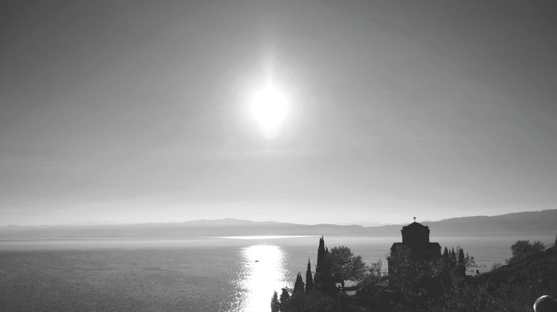Macedonia Ohridlake Church Lake Popular Photos Landscape