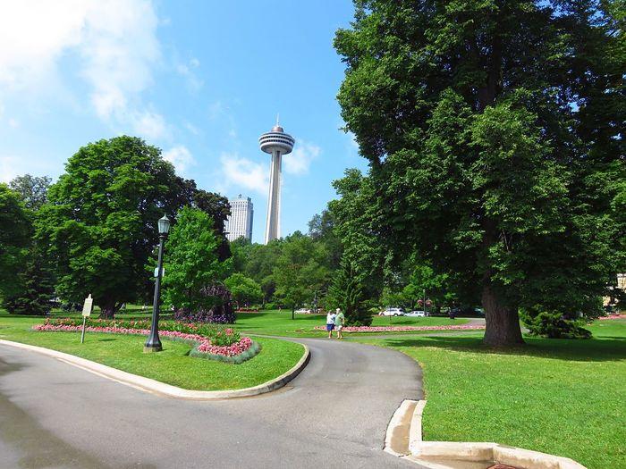 Neighborhood Map Niagara Falls Waterfall Tourism Travel Destinations