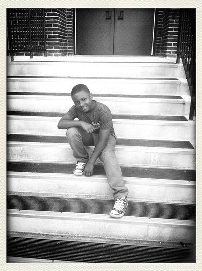 Swag ... Black & White Street Photography School Life  My Son