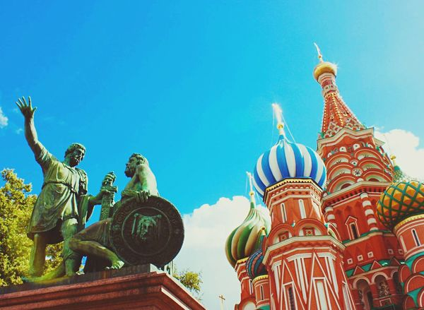🇷🇺 Moscow (Aug. 2015) Russia Moscow Red Square Saint Basil's Cathedral Россия Москва красная площадь Собор Василия Блаженного путешествие Traveling